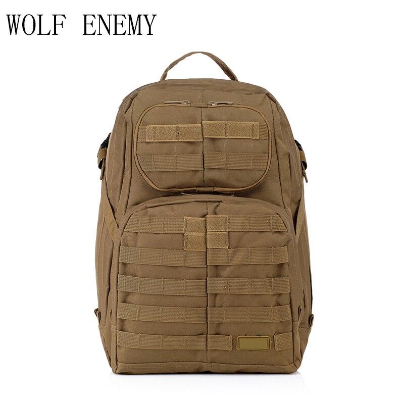 Offre spéciale hommes en plein air Style militaire Camo Camping sac patrouille 3 jours tactique Molle Camel Pack assaut Camoflaage sac à dos - 6