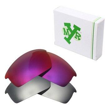 2 pares de Mryok polarizadas lentes Oakley gafas modelo bottlecap de titanio de plata y el sol de medianoche