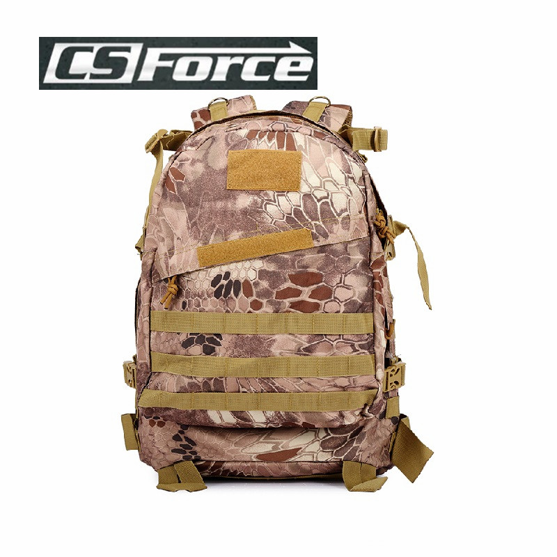 CS Force 1000D Molle Durable Military Army Backpack Sports Camping Hiking Climbing Bag Backpacks Hunting Bags BG-002 cs force 1000d nylon molle hunting bags sport single shoulder bag men sport camping hiking hunting waist bags messenger bag