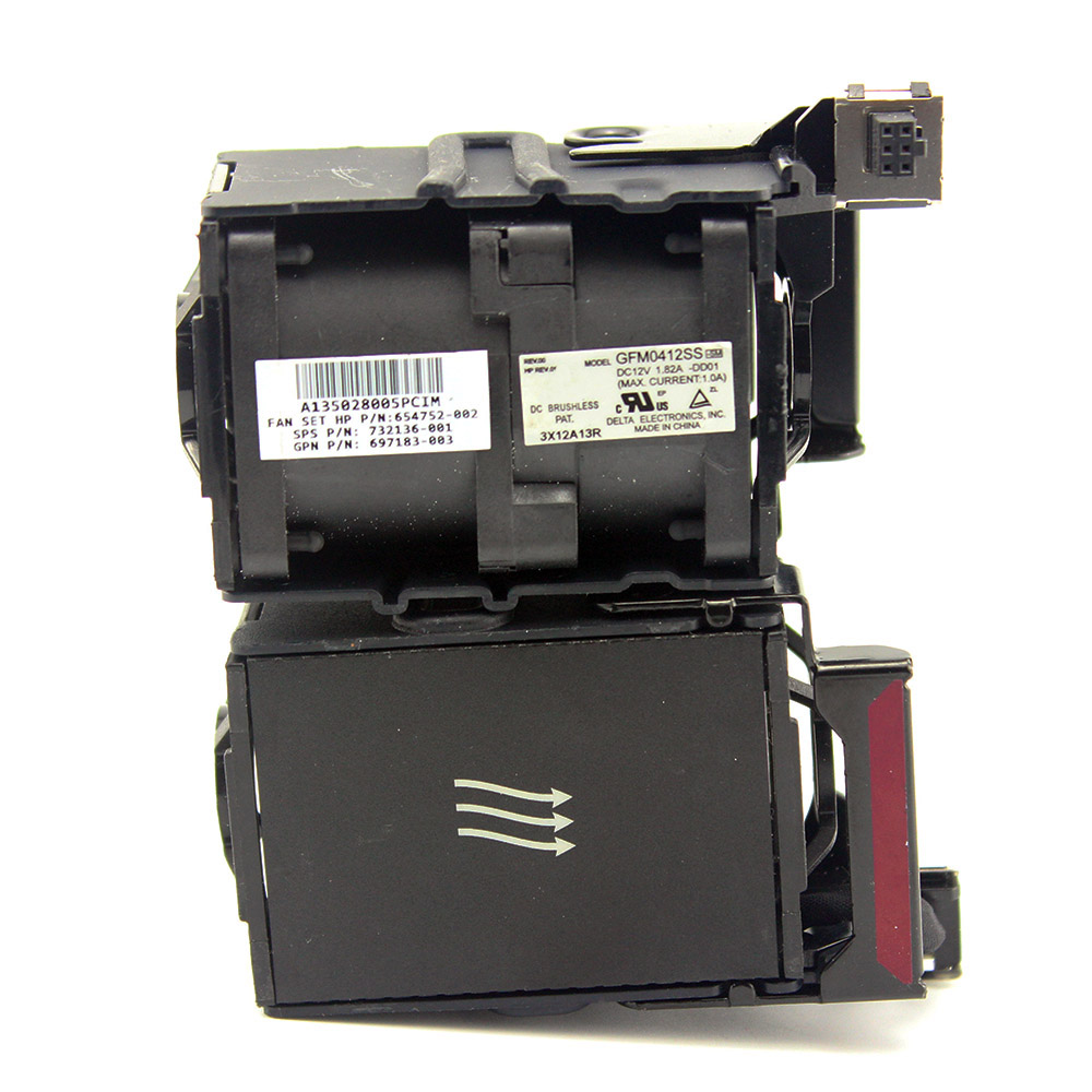 GMF0412SS For HP Proliant DL360p DL360e G8 Gen8 Server Cooling Fan 654752-001 667882-001 697183-002 697183-001 696154-001 Cooler