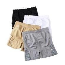 Short Pants Women Shaper Bottom Panties Emptied Breathable Underwear Hip Enhancer Brief Safety Butt