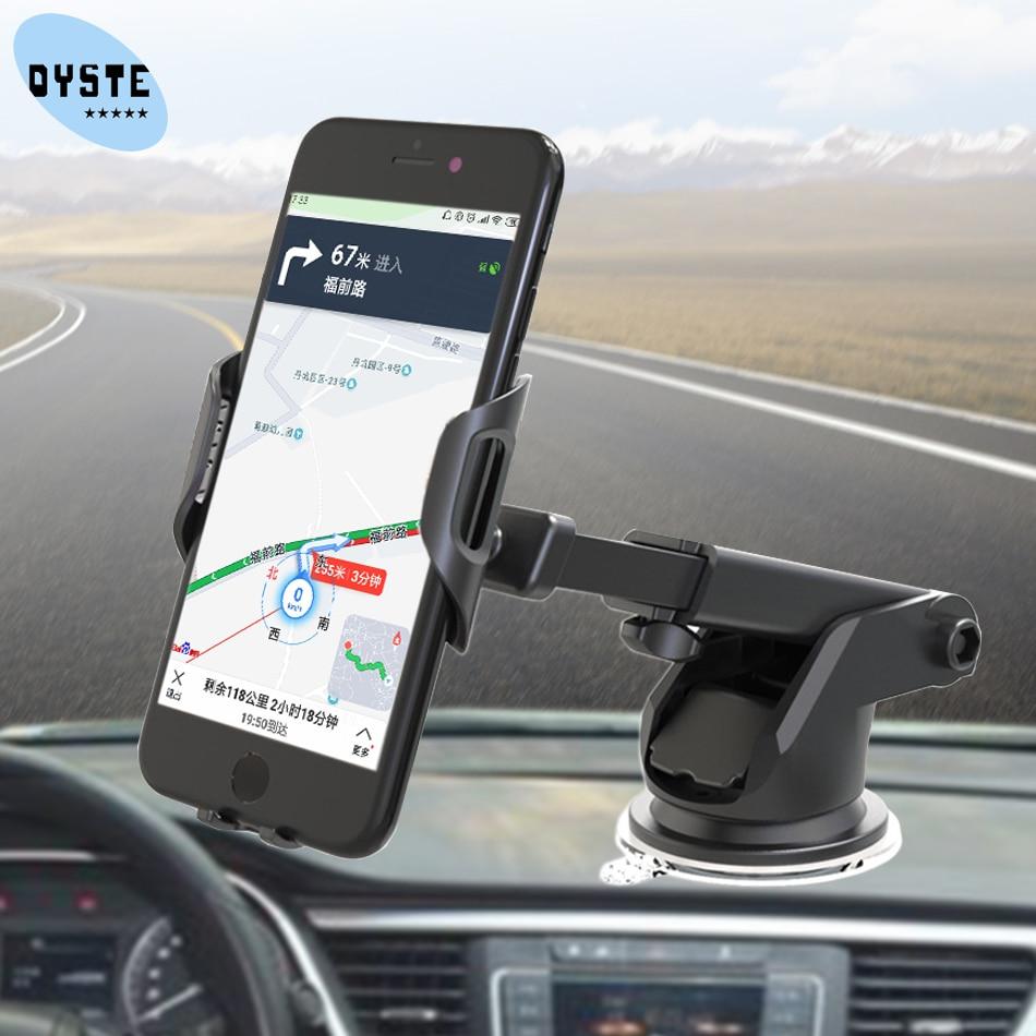 Car Phone Holder For Oneplus 7 6 6t 5 5t LG G7 G6 V30 Alcatel Moto Car Holder Munt Universal Smart Phone Mobile Cell Stand Hold