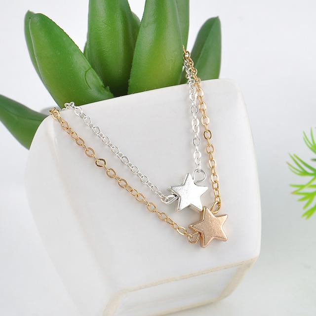 Star  Bracelet  Rose Gold Plated