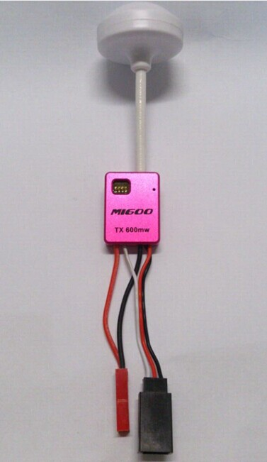 5.8G 600mW Mini A/V FPV Tx Transmitter MI600 W/ Clover Mushroom Antenna TX600 for RC Quadcopter Multicopter tx600 mini 5 8ghz 600mw mini wireless video transmission sender transmitter tx silver page 4