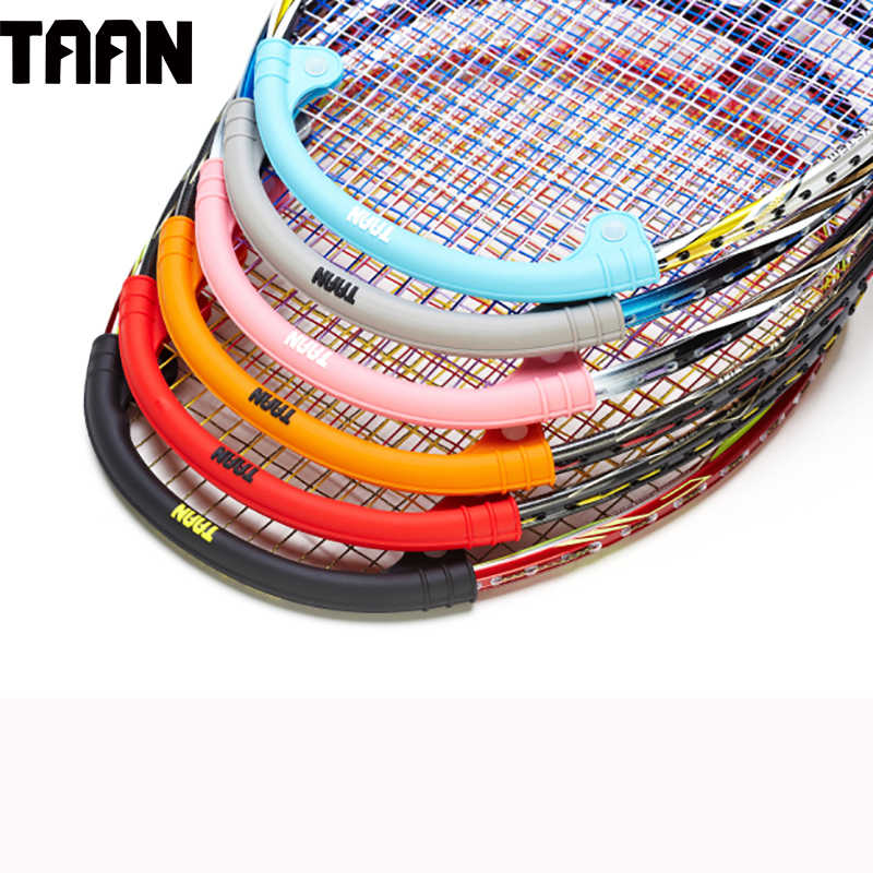 TAAN 5pcs/lot Badminton Protector Frame Silicone Reduce Shock Upgrading Power for Badminton Racket
