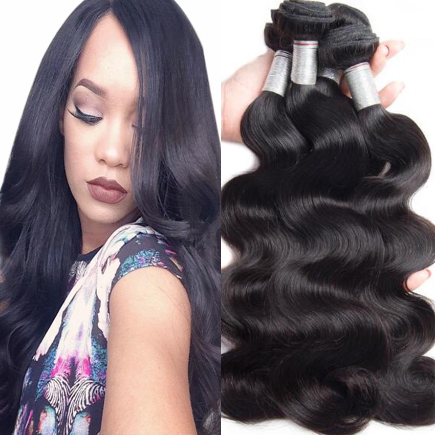 Buy 4PCS Peruvian Body Wave Virgin Hair