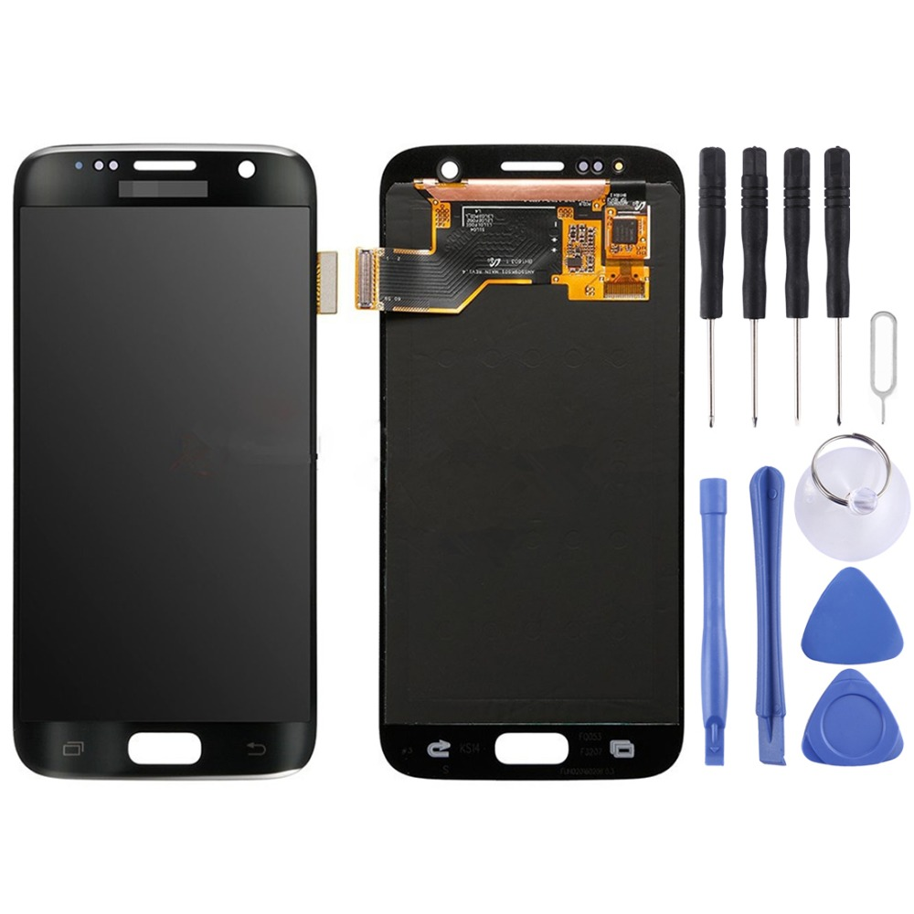 iPartsBuy Original LCD Display + Touch Panel for Galaxy S7 / G9300 / G930F / G930A / G930V, G930FG, 930FD, G930W8, G930T, G930UiPartsBuy Original LCD Display + Touch Panel for Galaxy S7 / G9300 / G930F / G930A / G930V, G930FG, 930FD, G930W8, G930T, G930U
