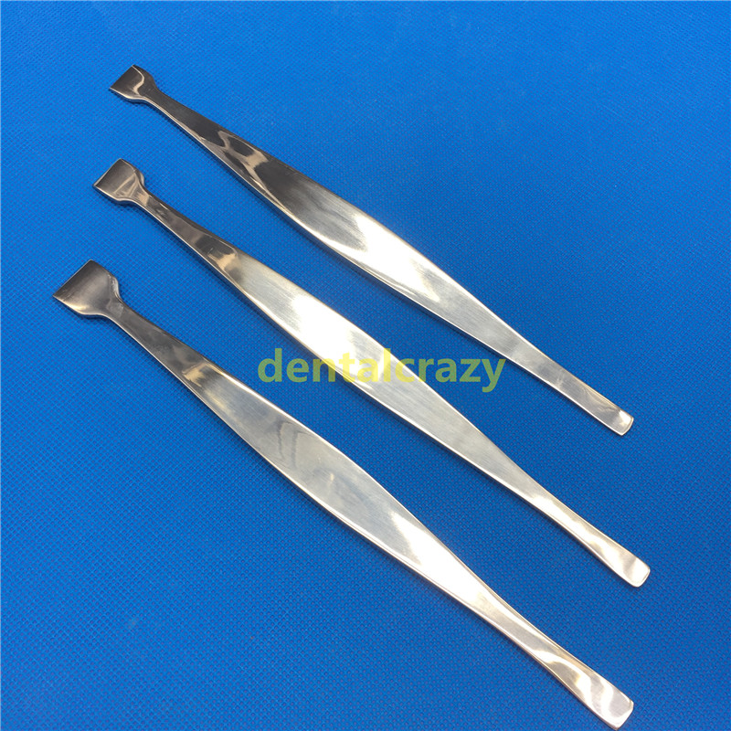 3pcs Bone Elevators Periosteal Stripper Double-ended Orthopedic Veterinary Instrument