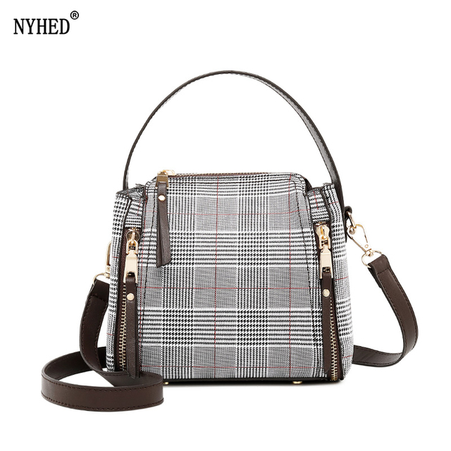 0749d06a59 NYHED 2018 New Women Wool Bucket Bags Fashion Female Shoulder Bags High Quality  Female Handbags