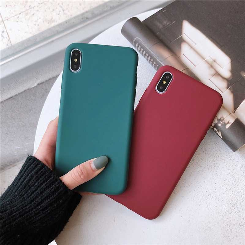 Matte Candy Colour Phone Cover For Huawei Mate 10 Pro P20 Pro Honor 10 Silicon Soft Tpu Phone Cases For Huawei P20 P10 P30 Cases