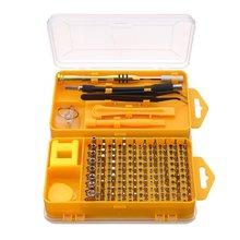 108 in 1 font b Screwdriver b font Sets Multi function computer repair tools Essential tools