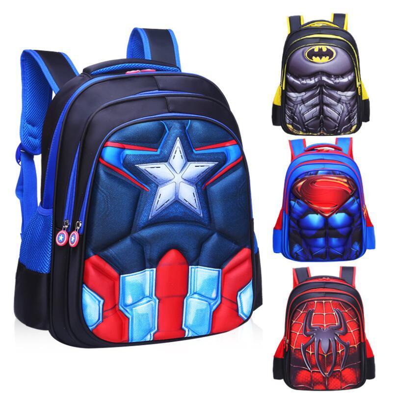 3D Orthopedic Schoolbag Backpack For Children In Grade School Bags For Boys 2018 Kids Backpack randoseru mochila escolar star wars 3d prints backpack schoolbag for kids