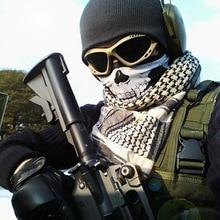 Wholesale Shemagh Military Bandana Men's Foulard Moto Scary
