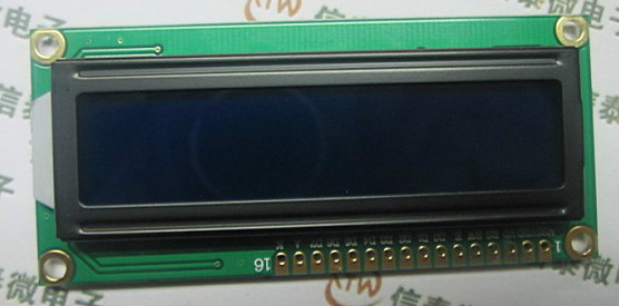 Free shipping by DHL EMS 100pcs lot 1602A LCD screen module blue 5V white fonts with