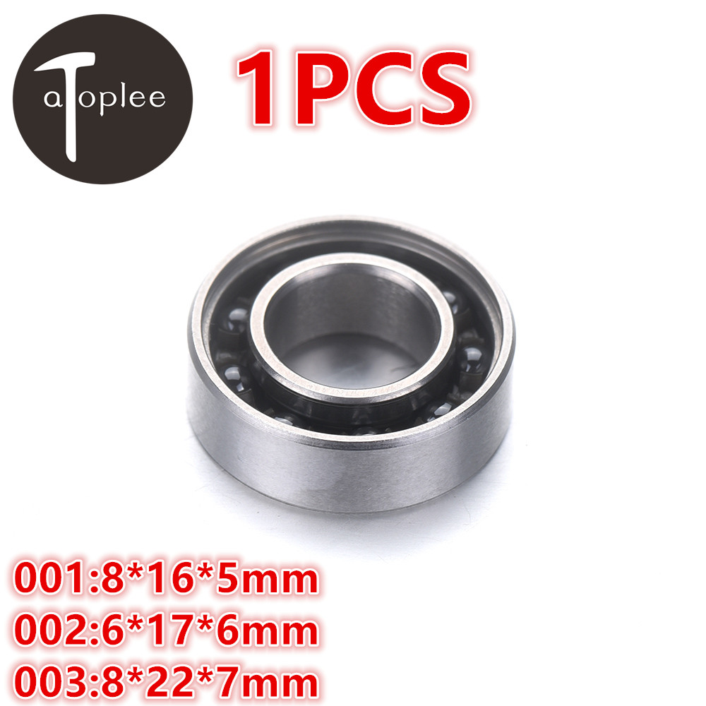 1pcs <font><b>688</b></font> Mixed Ceramic Bearings 16/17/22mm 420 Stainless Steel+Silicon Nitride Ball For Fingertip Gyroscope Toys Gyro Bearings image