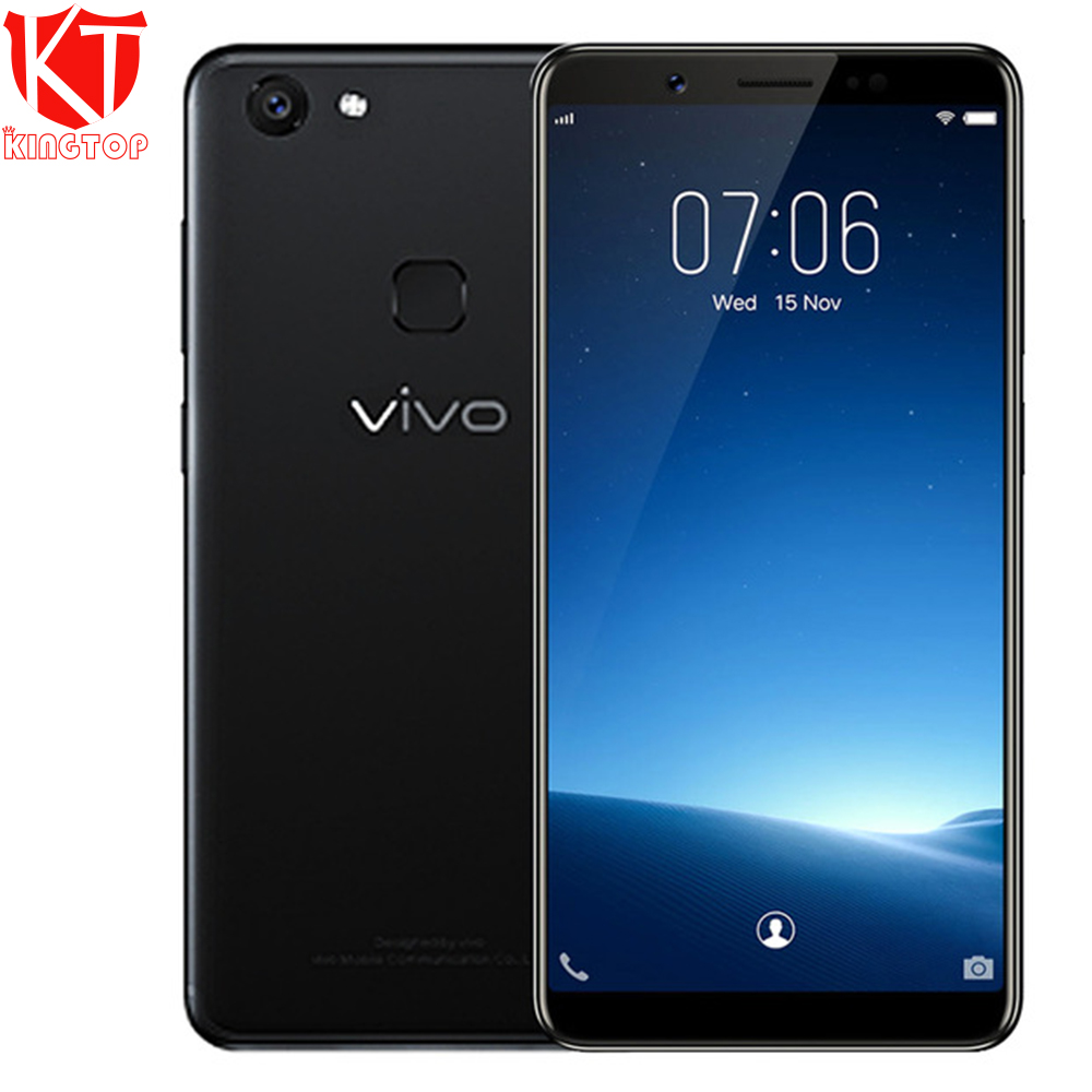 Global Firmware VIVO V7 Mobile Phone 4GB RAM 32GB ROM 5.7 24MP Front 16.0MP Rear Ocat Core Camera Android 7.1 4G Smart Phone
