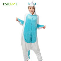 pijama onesie Stitch Unicorn Panda Bear Cow Winter Pajamas For Women Men Warm Onesies Adult woman sleepwear Animal Pyjamas