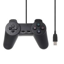 USB 2.0 แบบมีสาย Multimedia Gamepad จอยสติ๊ก Joypad ตัวควบคุมเกมสายสำหรับแล็ปท็อปคอมพิวเตอร์ PC