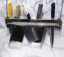 купить Shelf wall rack sooktops tool holder chopping block rack 304 stainless steel tool holder kitchen supplies дешево