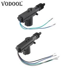 VODOOL 12V actuador de cerradura de puerta Central Motor pistola Auto Motor de bloqueo Central vehículo sin llave antirrobo sistema de alarma Accesorios