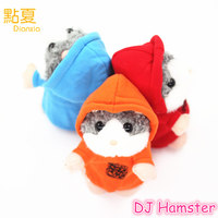 DIANXIA 2017 New Arrival Talking DJ Hamster Recording Plush Electronic Pets Toy Interactive Gift For Kids