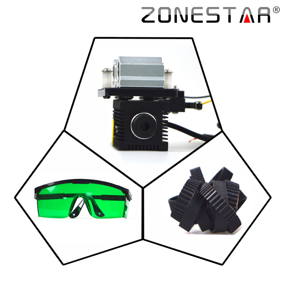 New Arrival Laser engraver cutting marking upgrade DIY kit for zonestar P802 D805 D806 3D printer machine sbart upf50 806 xuancai