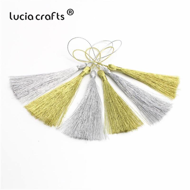 12pcs// Lot Fashion Tassel Pendants Trim Craft Jewelry Making DIY Findings 4cm
