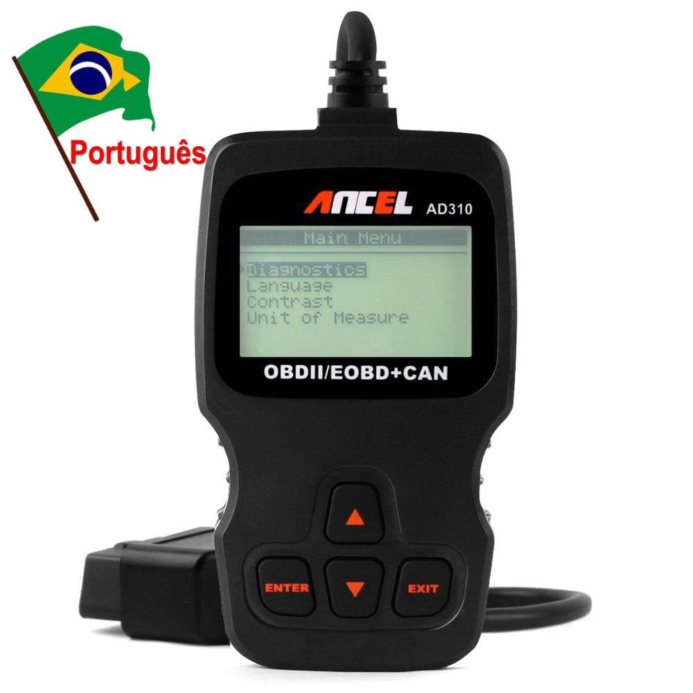 Prix pour Voiture À main scanners de diagnostic Ancel AD310 de diagnostic-outil EOBDEngine Code Lecteur Tester obd2 Scanner automobile scanner