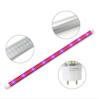 25PCS LED Grow Light Full Spectrum T8 Tube LED Hydroponic System Greenhouse Indoor Growth Lamp For
