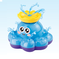 Baby Funny Toys Octopus Boat Infant Spray Water Baby Bathing Shower Water Play Classic Educational Learning