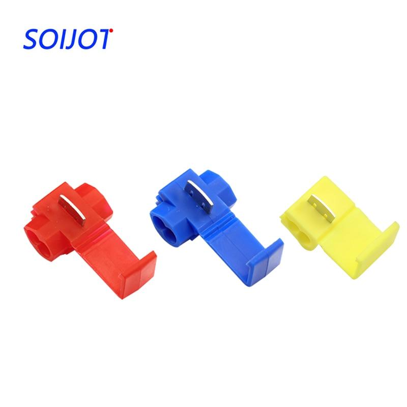 30-50pcs/lot Scotch Lock Wire Electrical Cable Connectors Qu