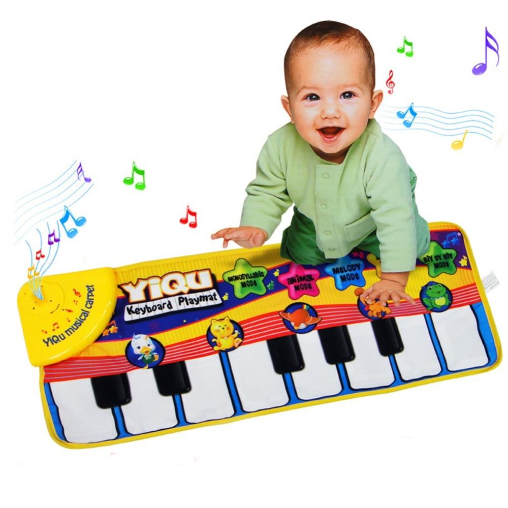 ⊱Juego del bebé Esterillas para niños música Juguetes juego Pianos ...
