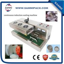 DL-300 полуавтоматический мед jar индукционной запайки, алюминиевая фольга герметик