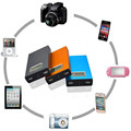 O envio gratuito de 12000 mAh Banco Do Poder Do USB do Metal Bonito Carregador 18650 Banco Batery para Tablet Telefone Móvel