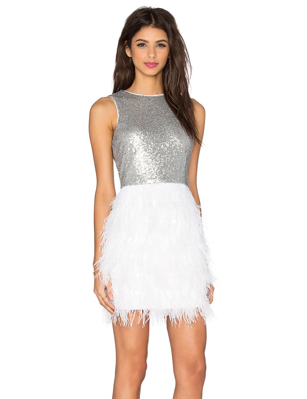Popular Silver Sequin Cocktail Dress-Buy Cheap Silver Sequin ...