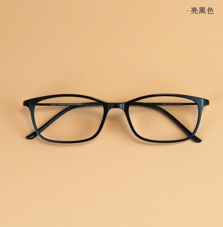 a5abaf934859e Ultra thin Korean Men Vintage BLSY Titanium Tungsten Small Square Glasses  Frame Women Myopia Prescription Eyeglasses-in Eyewear Frames from Men s  Clothing ...