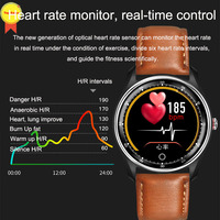 high quality ECG PPG Smart Watch Electrocardiograph watch Ecg Heart Rate Monitor Blood Pressure sport Smartwatch for IOS Android