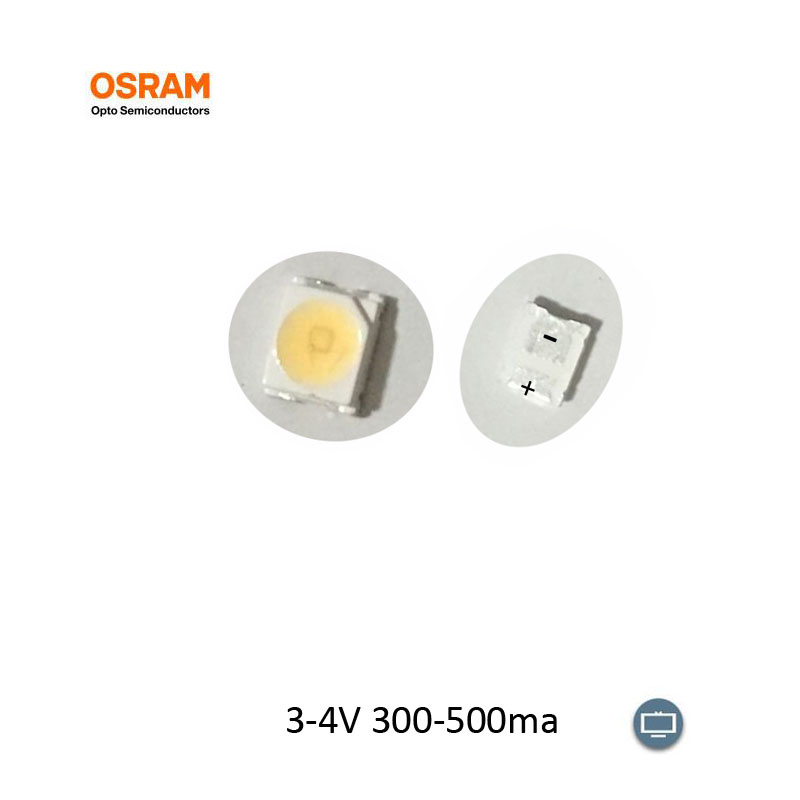 100PCS OSRAM LED  LCool White 2835 SMD LED 3-4V 1-1.5W 300-500ma For LED Backlight LCD TV Shipping By Air Mail