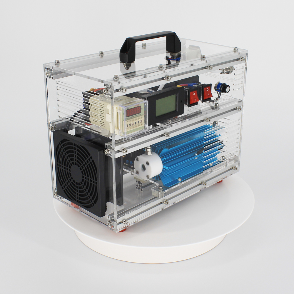 Pinuslongaeva CE EMC LVD FCC Fabrik outlet BO-1030QY 0-10 gr/std 10 gramm einstellbar ozon luft wasser maschine ozonisator ozonator