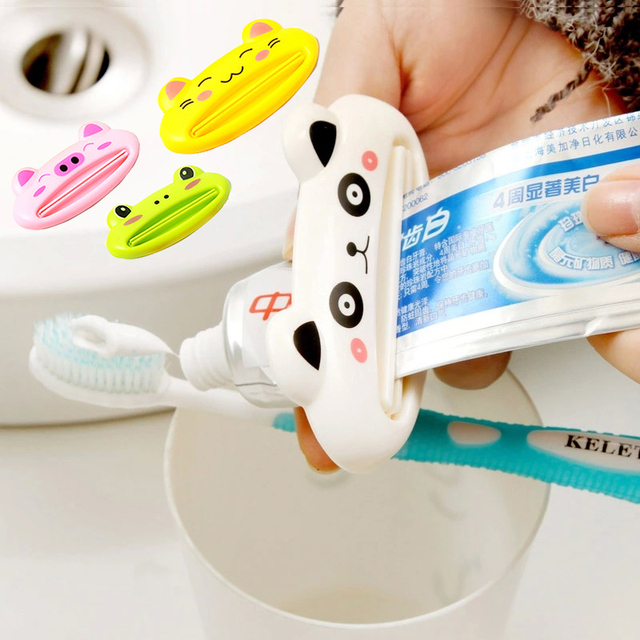 Cozy Home Ванная комната Зубная паста трубки соковыжималка Горячая панда зубная паста диспенсеры легко чистки зубов Держатель для детей мама папа