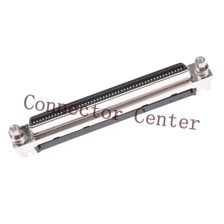 все цены на  Original SCSI Connector For Hirose HRS 100P CN Type 180 Degrees  Female DX20A-100S  онлайн