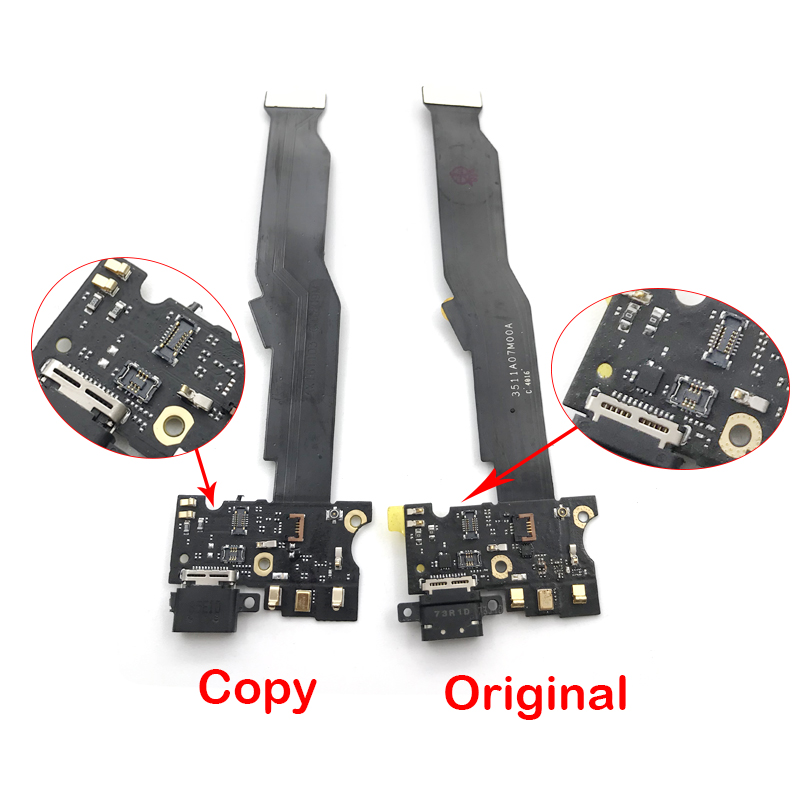 Original New USB Charging Port Dock Connector Board Flex Cable With Mic Microphone For Xiaomi Mi5s Mi 5S