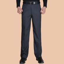 Модные мужские брюки весна осень классический бизнес размера плюс 20-40 повседневные Прямые брюки мужские брюки