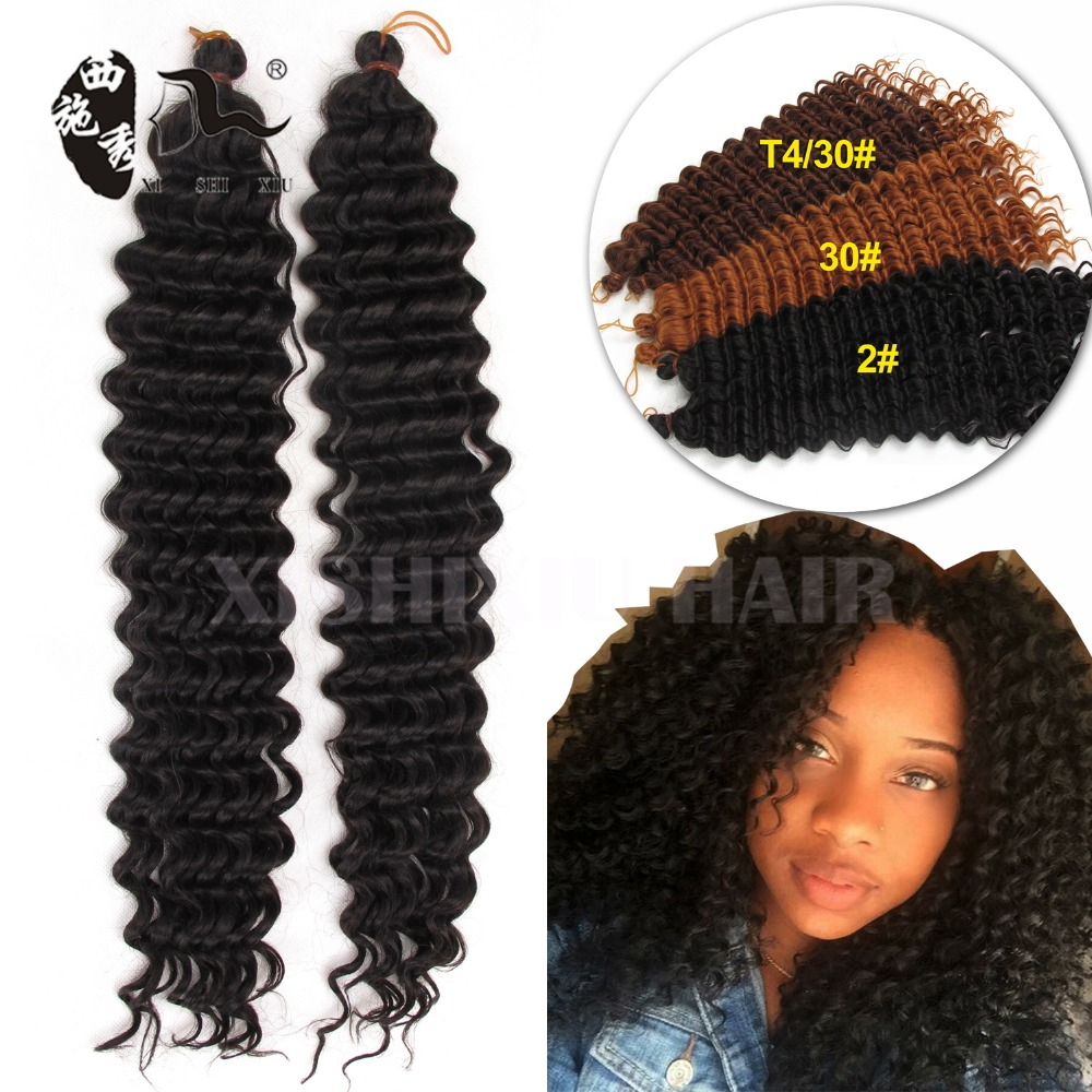 pre looped freetress hair synthetic crochet braids water