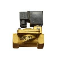 SLP серии 1 латунь электромагнитный клапан, DN25 24vdc, 220vac пилот нормально закрытый электромагнитный клапан