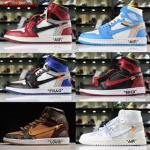 d7241a7391b279 New OW winter Off White AIR Unisex Baskeball jordan Offwhite shoes women  men force 1 . 7 Colors Available