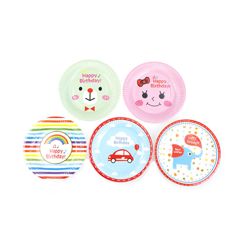 6pcs/set Cartoon Tableware Disposable Paper Plate Cake Food Popcorn Buffet Plates Wedding Decor Birthday Party Supplies-in Dishes \u0026 Plates from Home ...  sc 1 st  AliExpress.com & 6pcs/set Cartoon Tableware Disposable Paper Plate Cake Food Popcorn ...