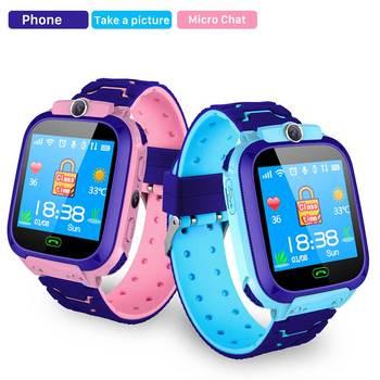 Nashone S9 montre intelligente enfants gps étanche camer montres pour enfants filles garçons silicone enfants montre téléphone carte sim