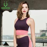 2018 New Women Shockproof Sports Bra Stretch Push Up Fitness Vest Breathable Seamless Underwear Yoga Running Tops