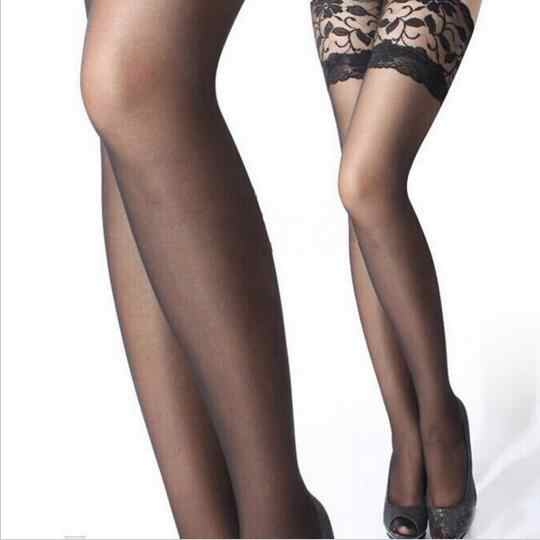 New Fashion Women Sexy Stockings Plus Size Women Lace Stockings Hot Top Thigh High Stockings Pantyhose Calcetines Mujer QF233-5